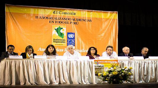 Audiencia sobre Cambio climático en Piura