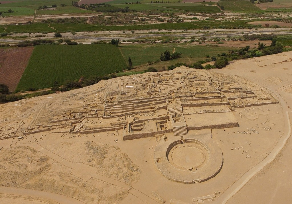 Crédito:  Zona Arqueológica Caral