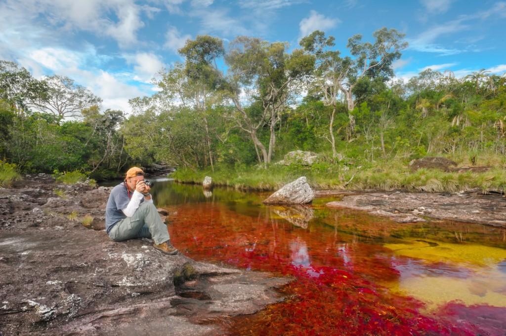 Foto: Mario Carvajal, Licenciada con Creative Commons. www.cano-cristales.com