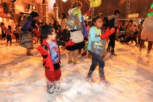 Navidad en Lima: celebra con panetón, chocolate y nieve