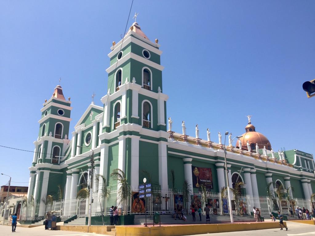 La iglesia de San Juan Bautista de Atacaos fue reconstruida en 1915