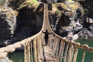 El día que conocí el Q'eswachaka, el último puente inca de Cusco
