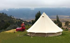 Así (de increíble) es dormir en un glamping en Cusco
