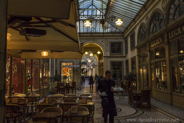 Galerie Vivienne.  Paris, France