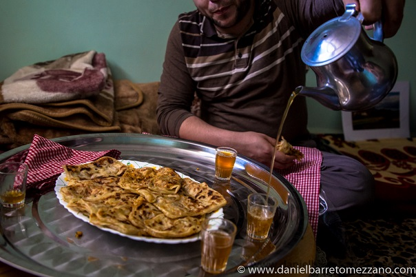 Almuerzo en un hogar Argelino