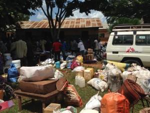 CAR - Displaced people leaving Berberati's diocese