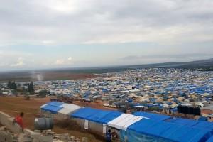 Al Karameh cluster in Atmeh, Idlib governorate.