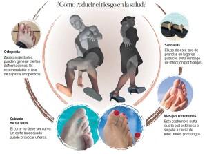 Los pies también necesitan cuidados