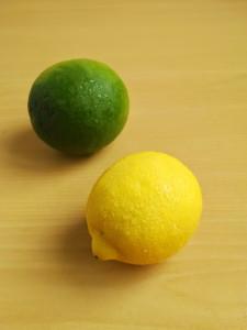 Limón Tahití y amarillo - Foto José Castro