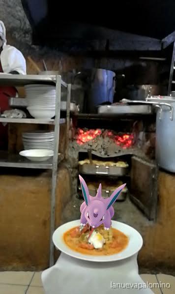 Un pokémon en mi chupe de camarones