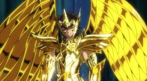 ¡Fotos de la figura de Aioros de Sagitario versión soul of gold!