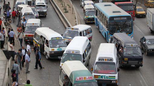 Transporte público de Lima.