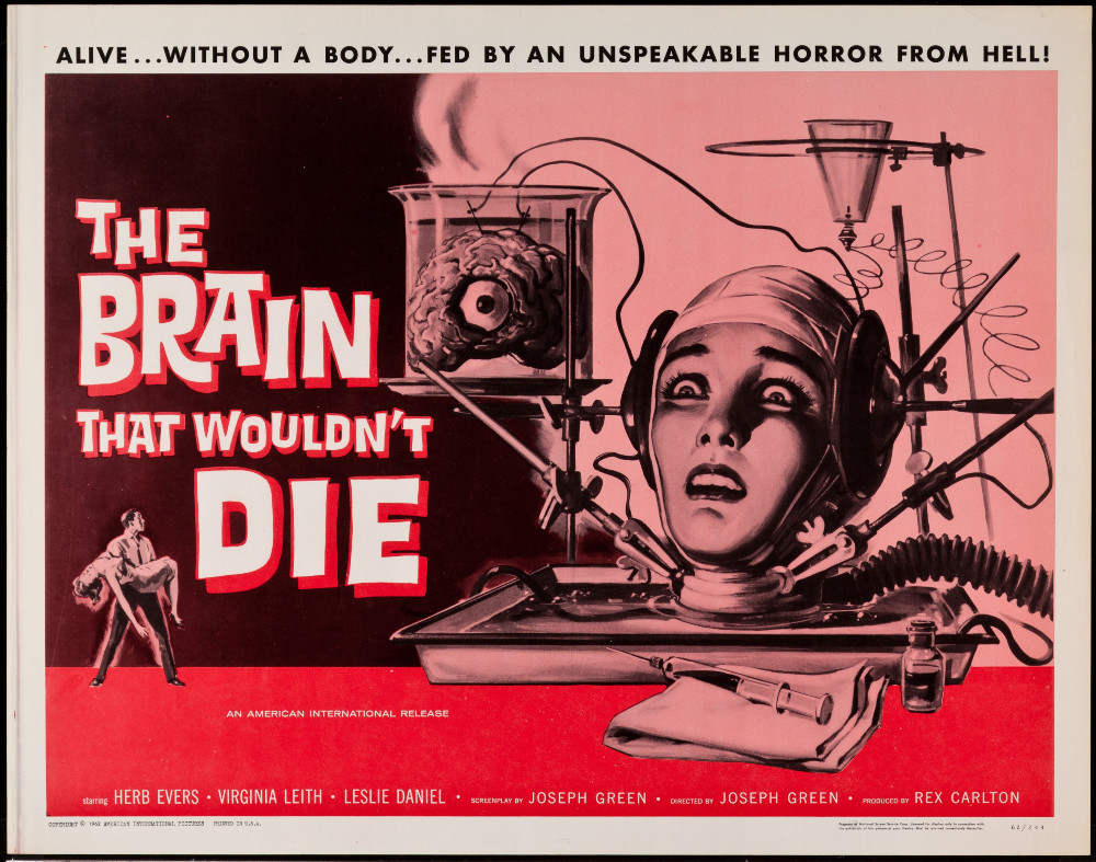 The Brain that Wouldn't Die. Fuente: Four Color Comics