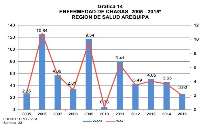 Fuente: Gerencia Regional de Salud de Arequipa