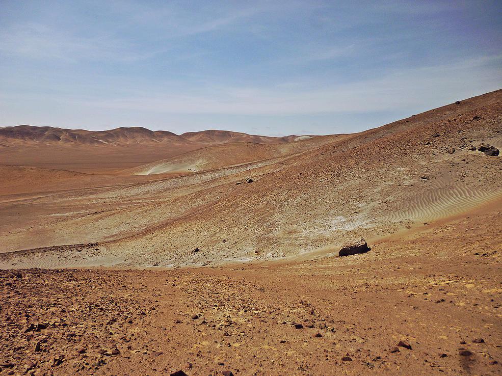 No es Marte. Son las Pampas de la Joya en Arequipa. Crédito: Sitio Oficial.