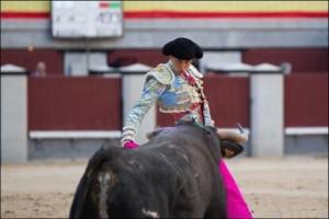 FOTO: PÁG WEB PLAZA DE TOROS DE LAS VENTAS CITANDO. En sexto lugar, se lidió el sobrero, de José María López, de procedencia Torrestrella.