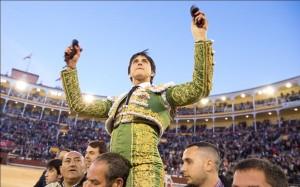 FOTO: CULTORO.COM Triunfador en Madrid; reaparece en Acho el 6 de noviembre; la hazaña de Andrés el día de su presentación en la plaza más exigente del mundo.