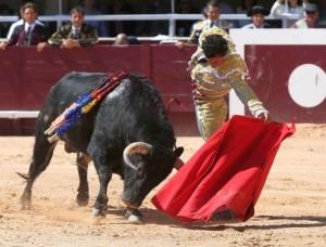 FOTO: BRUNO LASNIER El Sábado de Gloria, Galdós cortó una oreja en Cabra, Córdoba.