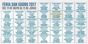 Blog Carteles de San Isisdro 2017
