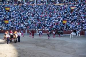 FOTO: CULTORO Al hacer el paseíllo en Madrid, la presión del público es enorme.