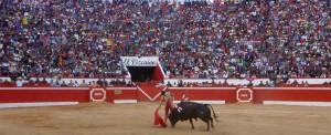 Roca Rey, sin torear, genera para Chota 16 millones de soles (con el video de su actuación en Badajoz, donde resultó cogido)