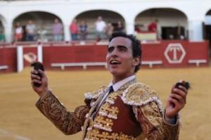 Joaquín Galdós triunfó en Almadén, Ciudad Real (con videos de sus dos faenas)