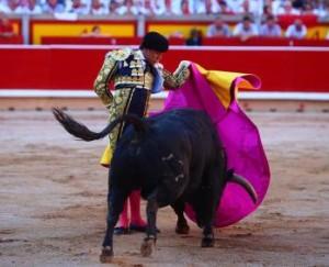 Caleserina de Andrés al tercer toro