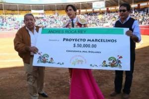 Andrés Roca Rey donó US$50.000 para los niños de Huamachuco