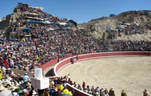 Novillero peruano fue corneado en el ojo en un festejo popular en Apurímac