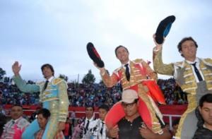 Cajamarca, muestra de la afición  en el Perú
