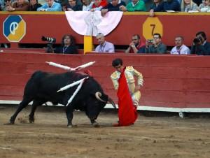¿Adame castigó en exceso al quinto toro con estos doblones?