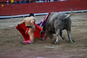 Exigentes doblones de Del Álamo al sexto. ¿Condicionaron esos doblones la posterior duración del toro?