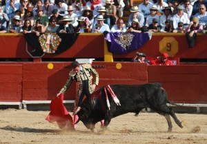 FOTOS: JUAN PONCE A Enrique Ponce le tocó el peor lote de la corrida.