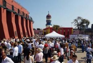 FOTO: PABLO JAVIER GÓMEZ DEBARBIERI Acho, crisol cultural de pasiones limeñas; joya arquitectónica, monumento vivo y palpitante con más de un cuarto de milenio de historia.