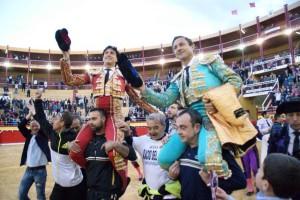 Roca Rey triunfó ayer en Cieza, Murcia