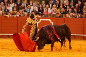 FOTO: SARA DE LA FUENTE, CULTORO El miércoles, Pablo Aguado cuajó una buena faena al sexto toro.