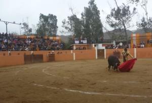 Los naturales de Emilio Serna al tercer toro.