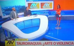 Debate con antitaurino en televisión, el miércoles 9 de enero