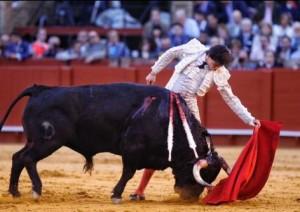 Andrés lo intentó por todos los medios, pero el peor lote, el suyo, imposibilitó faenas lucidas.