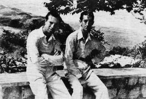 FOTO: EL RUEDO Manolete (der) y Pepe Luis Vázquez