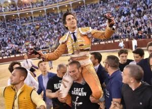 Roca Rey marcó un hito en  Madrid (con videos)