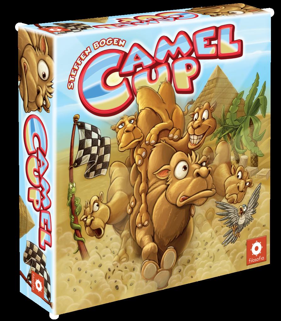 Uno de los juegos de mesa que más he estado jugando este mes es Camel Up, ¿de qué se trata?