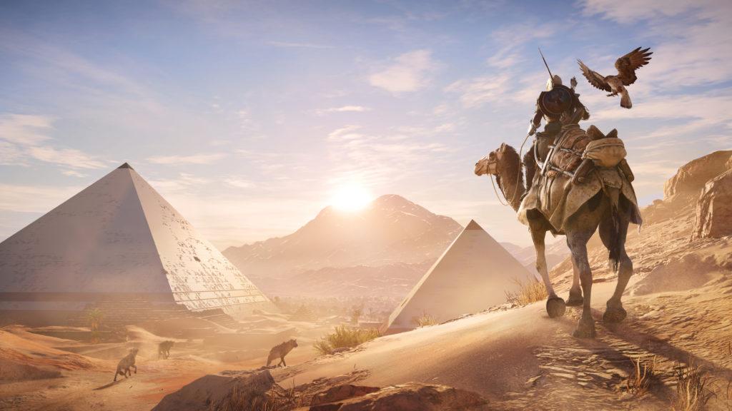 Durante la conferencia de Microsoft, Ubisoft anunció oficialmente el nuevo capítulo de la saga Assassin's Creed Origins.