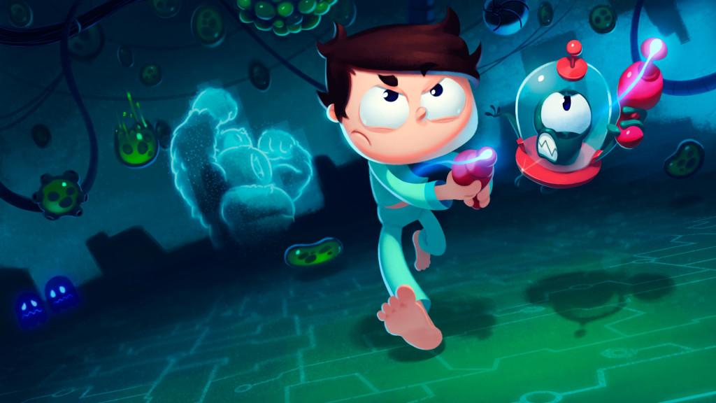 Esta semana salió al mercado Juanito Arcade Mayhem, un juego hecho en Argentina que rinde homenaje a los juegos clásicos de antaño.