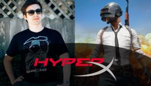 Streamer más popular de PlayerUnknown's Battlegrounds se une a HyperX como embajador de marca