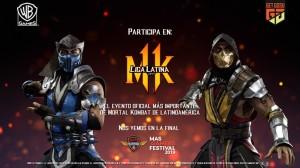La Liga Latina 2019 de Mortal Kombat 11 llega a Perú