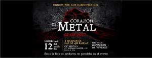 Corazón de metal: concierto solidario de la escena metal peruana por los damnificados