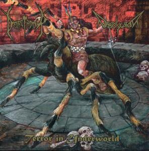 Reseña de Devaztador/Disboskator - Terror in Underworld - Pentagram Records - 2016