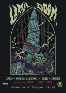 Lima Doom IX, este 14 de julio