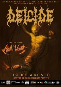 Deicide en Lima: Esperado concierto por todos los headbangers